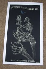 "EMEK Handbill Print KOLN 2007 Queens of the Stone Age 10.5"" poster art"