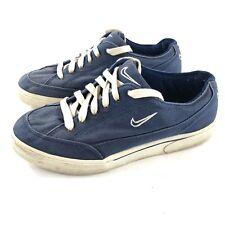 Vintage 1997 Nike Gts 141030-414 Blue Canvas Sneakers Skateboard Women's Size 10