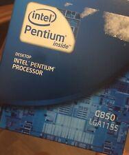 Intel BX80623G850 Pentium G850 Sandy Bridge 2.9 GHz Socket 1155 65W Dual-core De