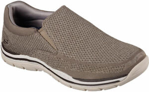 Skechers 65086 Taupe Men's EXPECTED-GOMEL Loafers Wides Available 65086 TPE