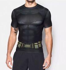 NWT $60 MEN'S UNDER ARMOUR ALTER EGO BATMAN COMPRESSION SS SHIRT 1273690 040