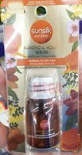 Sunsilk Natural Almond + Honey Serum Nourish Dry Hair Smooth Fragrance 8ml.