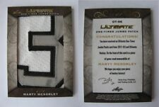 """2017-18 Leaf Ultimate OT-56 McSorley Marty 1/1 """"3"""" one timer jumbo patch 1 of 1"""