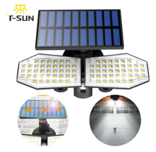 78 LED Dual Security Detector Solar Spot Light Motion Sensor Outdoor Floodlight