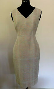 Perri Cutten, Metallic Weave LUCIA Dress, Size 10  NEW  With Tags RRP $429