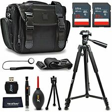 Xtech Accessories Kit for Fujifilm X-A10 with 64Gb Memory, Case, Tripod