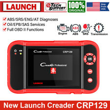 LAUNCH CRP129 Check Engine Transmission ABS Airbag Scanner Auto Diagnostic Tool