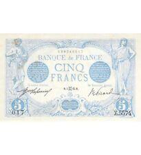 FRANCE - 5 FRANCS BLEU 12/08/1915 - TB+