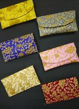 50 Pcs Indian Handmade Pouch Clutch Wedding Favor Return Gifts Bridesmaid Gifts