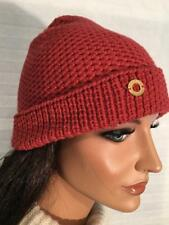 NWT Authentic LORO PIANA Rougemont Pink 100% CASHMERE Knit HAT