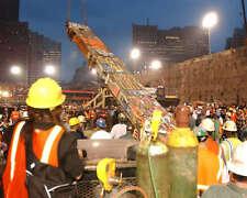 9/11 LAST BEAM REMOVED FROM WTC GROUND ZERO 8X10 PHOTO