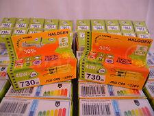 2 Halogen HALOPIN lamp bulb G9 48W ~220V 730 Lm 60W economic ECO GREEN SAVER 30%