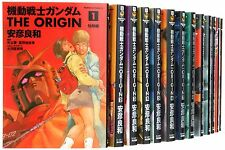 Used) Gundam The Origin vol.1-24 Japanese Complete Full Set Comics Manga F/S