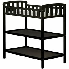 Dream On Me Emily Baby Changing Table in Black