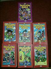 Dragon Ball Z lot de 7 manga livre BD album Dragon Fall parodie humour DBZ