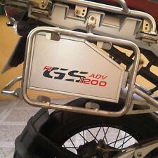 Toolbox, Werkzeugbox BMW R1200GS Adventure (-2013) Additional Box, Schwarz-Rot