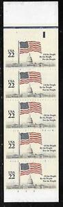 Scott 2116A US Stamps 1985 22c Flag over Capitol MNH Booklet
