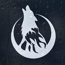 Wolf Luna El Fuego coche decal pegatina de vinilo