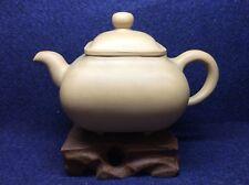 Chinese YiXing Old Si Fang Duan Ni Teapot, Year 60s to 70s, Fang Yuan Mark-280ml