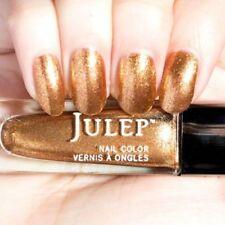NEW! Julep nail polish Vernis LUZ ~ Sunset Gold Metallic ~ Full Size