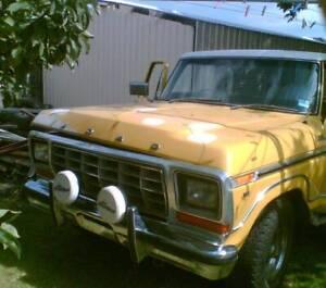 F100 ford parts wrecking f100 f250 f350 dentside bronco 1978 1979