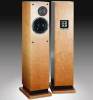 Proac D30R. High End column speakers.  Cherry finished.