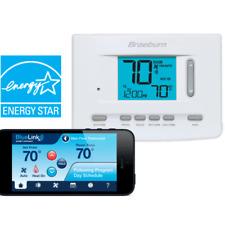 Braeburn Smart WiFi Thermostat - Universal, Programmable, 3 Heat/2 Cool  7205