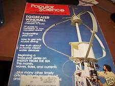 Popular Science May 1975 Eggbeater Windmill