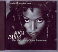 MICA PARIS Rare INTERVIEW CD w music snippets