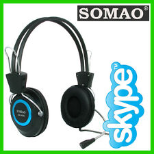 Skype Headset Auriculares PC Mic-Dell alianware OptiPlex Precision Toshiba Acer