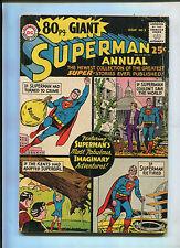 SUPERMAN ANNUAL #1 (6.0) KEY ISSUE!