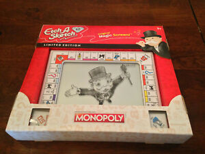 GENUINE ETCH-A-SKETCH 60th ANNIVERSARY MONOPOLY GAME COLLECTORS EDITION 60 YEARS