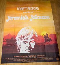 Affiche de cinéma : JEREMIAH JOHNSON de SYDNEY POLLACK