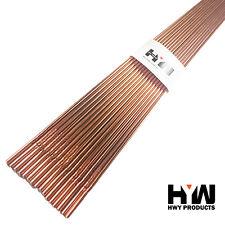 """ER70S-2 2-Lbs Mild Steel TIG Welding Filler Rod 1/8"""" x36"""" 2-Lbs"""
