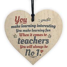 Number One Teacher Gift Teaching Assistant Nursery Childminder Preschool Present
