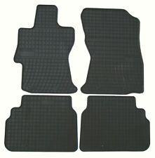 Passend für Subaru Forester Fußmatten I RH-001 Grau Alle Gelände Heavy PVC