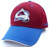 Colorado Avalanche Reebok TZM13 NHL Hockey Team Logo Stretch Fit Cap Hat L/XL