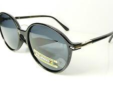 Damen VG Designer Groß Runde Sonnenbrille Polarisiert