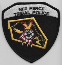 Nez Perce Tribal Police State idaho ID NEW