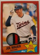 Joe Mauer 2020 TOPPS SERIES 2 1985 TOPPS ALL STAR FOUR COLOR PATCH 13/25 TWINS