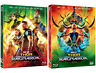Thor: Ragnarok - Blu-ray, 2D, 3D Slip Case Limited Edition (2018) w/ Post cards