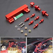 "Red 1/8"" NPT 6 Port Vacuum Manifold Kit fit Turbo Boost Intake Manifold"