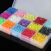 Wholesale 500/3000Pcs Glass Seed Beads Spacer Loose Beads For Jewelry Making
