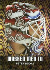 10/11 BETWEEN THE PIPES MASKED MEN III MASK SILVER #MM-42 PETER BUDAJ *44330