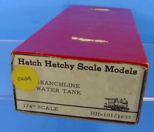 O SCALE ON3, On30 HETCH HETCHY SCALE MODELS BRANCHLINE WATER TANK KIT
