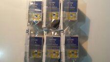6 x Originale EPSON S020089/S020191 Tri-le cartucce di inchiostro a colori-ORIGINALE!