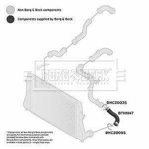 CAPSautomotive Charger Air Hose for Volkswagen 3C0145832 3C0145832C 3C0145832D