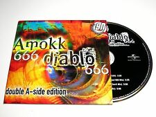 cd-single, 666 - Amokk Diablo Double A-Side Edition, 4 Tracks, Cardsleeve