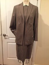 Valentino 2 piece Suit Jacket Dress Size 42 And 44
