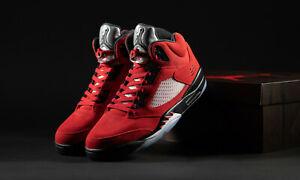 Nike Air Jordan 5 Retro Raging Bull Red EU45/US11 DS